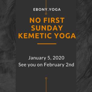 No Kemetic Yoga 1.5.20